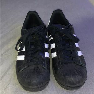 Adidas Superstar Foundation Shoes (BLACK)